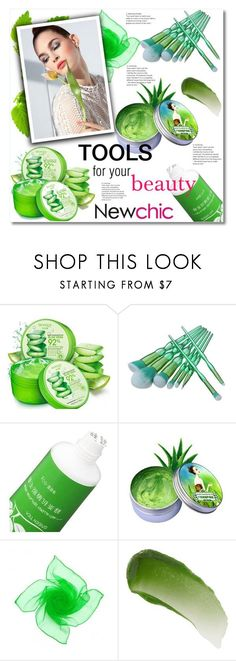 """""""Newchic 12"""" by aida-nurkovic ❤ liked on Polyvore featuring Lipstick Queen"""