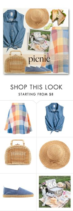 """""""Picnic in the Park"""" by anitadz ❤ liked on Polyvore featuring Kayu, WithChic, Castañer and picnic"""