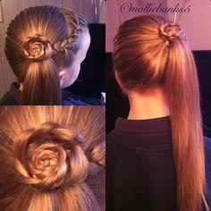 Braided Flower Hairstyle :-)