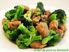 Broccoli, Vegetables, Pork, Veggies, Vegetable Recipes