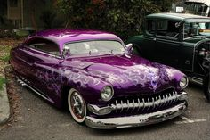 1949 Mercury Kustom by Michelle ~ BLACKY IS A HAPPY KITTY...., via Flickr