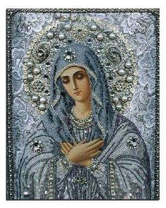 5D Round diamond painting  amp  diy diamond painting cross stitch Blessed  Virgin Mary 8331eccce011