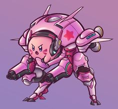 Kirby: Planet D.va-bot!
