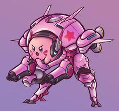Kirby: Planet D.va-bot!
