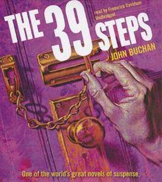 The Thirty-Nine Steps by John Buchan, read by David Thorn