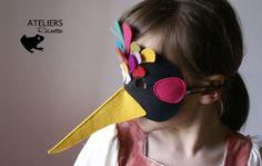 Máscaras con fieltro