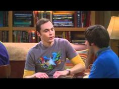 Sheldon Cooper gives a compliment in his own way
