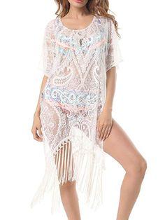 1095fc4cef Himone - Women Swimwear Beachwear Tassel Floral Bikini Beach Wear Cover Up  Kaftan Sarong Summer Dress - Walmart.com. BeachwearSwimwearSwimsuitsBikinisFloral  ...