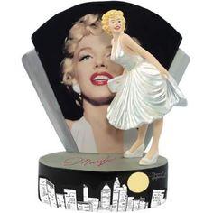 Marilyn Figurine in White Dress with City Skyline & Glamour Shot Photo: Amazon.com: Home Furnishings