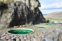 Hoffell hot pots near Höfn Iceland
