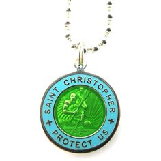 The Saint Christopher Surf Pendant Necklace that Blake Lively (Nancy) wears in the movie The Shallows (2016).