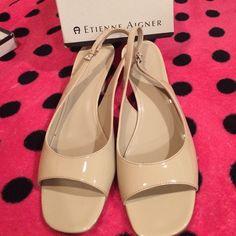 Etienne Aigner Beige size 9 Shoes