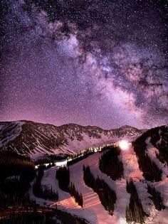Twitter / TheStunningPics : Milky Way, Colorado, United ...