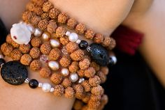 rudraksha wrap as #bracelet #mala