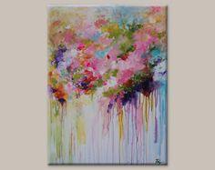 Reserve for Victoria ORIGINAL abstract painting por artbyoak1