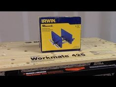 One of my viewers asked if I would make a video of how to attach an Irwin 6 inch Woodworker's vise 226361 to a Workmate In this video I share with y. Woodworking Merit Badge, Woodworking Terms, Woodworking Hand Planes, Carpentry Tools, Custom Woodworking, Woodworking Projects Plans, Home Workshop, Wood Vise, Mobile Workbench