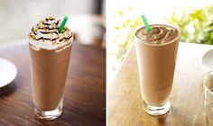 Healthy Starbucks drinks, so good to know cause I love Starbucks but not the calories