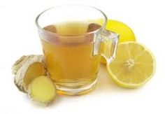 See this recipe for Cleansing Ginger Lemon Tea. It has many health benefits and it's delicious too.
