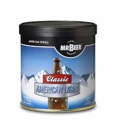 Mr. Beer Classic American Light Refill Brew Pack by Coopers DIY LLC dba Mr Beer. $17.82. Most popular brewing styles. All malt beer. Makes 2 gallon of All-Malt Beer. Easy to use, just add water. 14 Day brewing process. Produces 1 batch (2 gallon total) of All-Malt style beer. Includes: 1 Can Classic American Light, 1 Packet Dry Brewing Yeast (under lid of HME), 1 Packet No Rinse Cleanser, and Instructions.