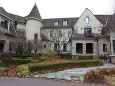 West Bloomfield, MI - French provincial 7 BR, 7 full baths, 4 half. 13,000 sq ft on the three top floors, plus 6,000 on the lower level #RealEstate #Michigan