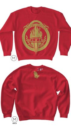 GFA Classic Sweatshirts (RED) ONLY A Couple REMAINING