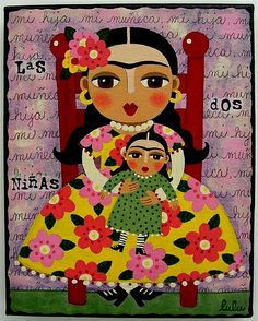 Frida Kalho by Lulu