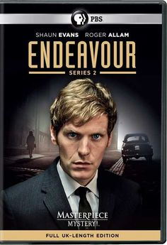 Shaun Evans stars as a young Inspector Morse in PBS' 'Endeavor', 2013-14.