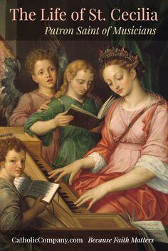 St. Cecilia: Patron Saint of Musicians