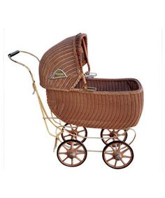 Collectibles General Antiques Wicker Baby Carriage