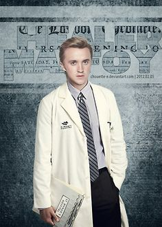 Healer Malfoy O.O Whoever had the idea for these is amazing. Did Draco really become a healer?
