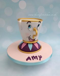 'Chip' from Beauty & the Beast. by The Crafty Kitchen - Sarah Garland