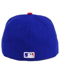 competitive price b6fbd bfc56 New Era Kids  Chicago Cubs Batting Practice Diamond Era 59FIFTY Cap - Blue  6 1