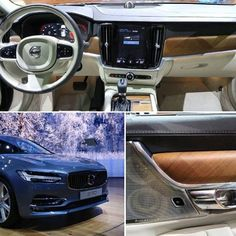 The Interior of the is minimal in the tradition. They have even managed to design a primarily touchscreen interface free of gimmicks. Geely is clearly letting Volvo be Volvo and it is paying off big-time. Volvo Models, Volvo S90, Cars Usa, Volvo Cars, Dream Cars, Nissan, Scandinavian, Minimalism, Big Time