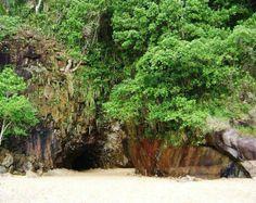 Praia da Sununga_Gruta que chora/Ubatuba - Litoral Norte SP