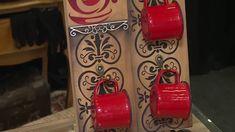 Os materiais utilizados no passo-a-passo podem ser adquiridos no site: www.artefacilartesanato.com.br Lista de Produtos: - Pallet - Pincel Redondo Pituá - Ga...