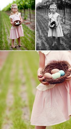 Renee Hindman ~ Such a talent!  This would be cute to do with the children's church kids after the egg hunt! :)
