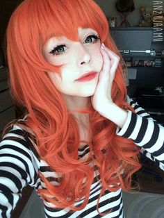 Anzujaamu - (I know this is a wig, but that hair color is perfection)