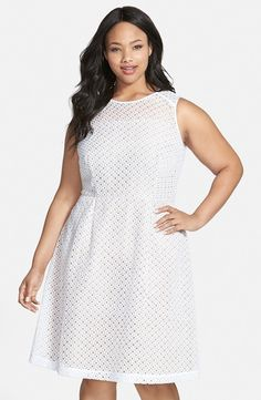 The Curvy Fashionista | 13 Plus Size Little White Dresses for ...