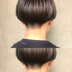 bibito お客様 刈り上げボブ® hair TSUJII