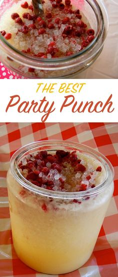 The best party punch