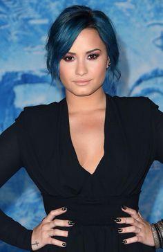 Demi Lovato at the premiere of Frozen 11/19