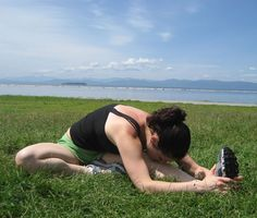 6 stretches for tight hamstrings - so you can finally touch the floor