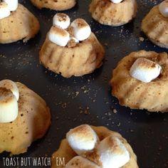 Mini Sweet Potato Bundt Cakes ~ Tickle Me Sweet