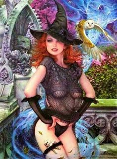 Wiccan fantasy art nude