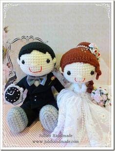 amigurumi wedding - Google Search