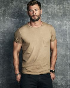 Feel Stylish — Chris Hemsworth for Men's Journal | November...