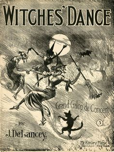 """Witches' Dance"" sheet music"