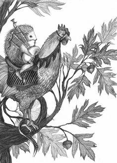 Hans-My-Hedgehog Illustrations: A bit about me and Hans...