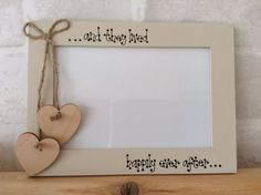 Hey, I found this really awesome Etsy listing at https://www.etsy.com/listing/216040195/personalised-photo-frame-5-x-7-wedding