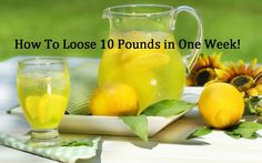 Today we are going to introduce to you one very effective diet that will help you to effectively loose up to 10 pounds in just seven days.